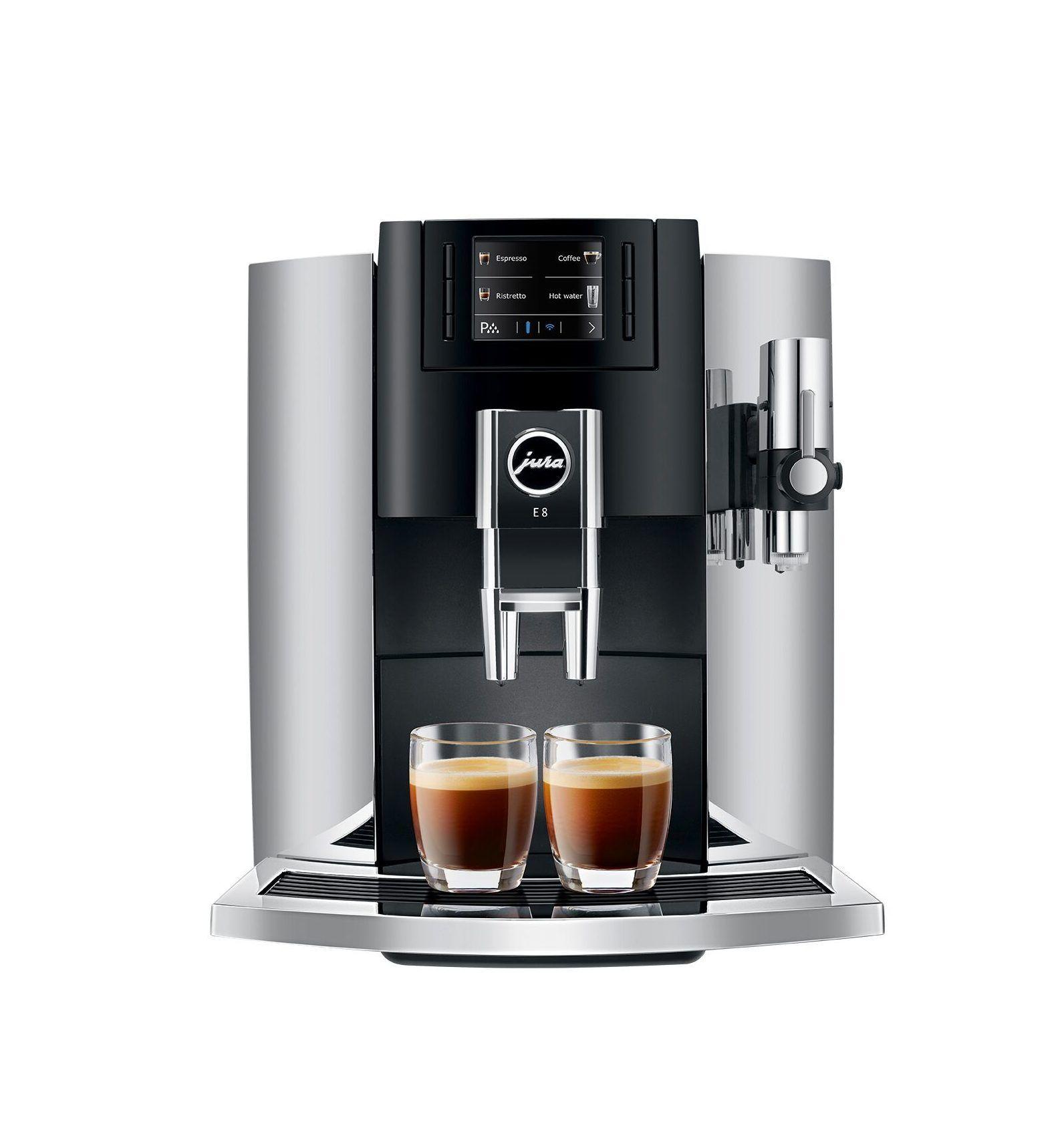 Jura E8 Super Automatic Espresso Machine
