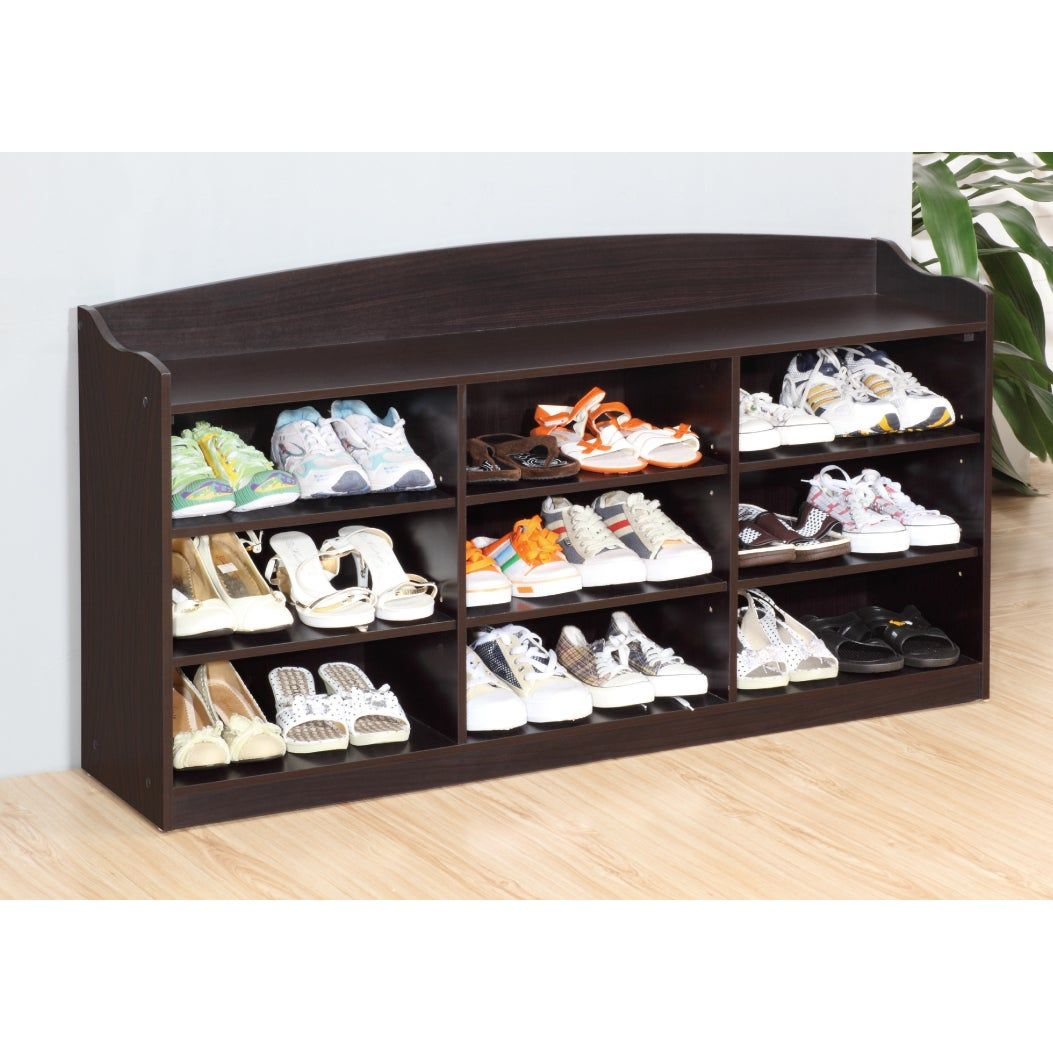 Brassex Brown Wooden Shoe Cabinet Dark Taupe In 2019 Products