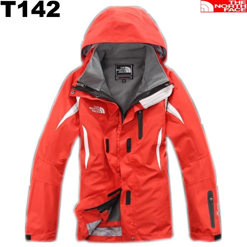 The North Face Womens Gore Tex 2 in 1 Jacket Red
