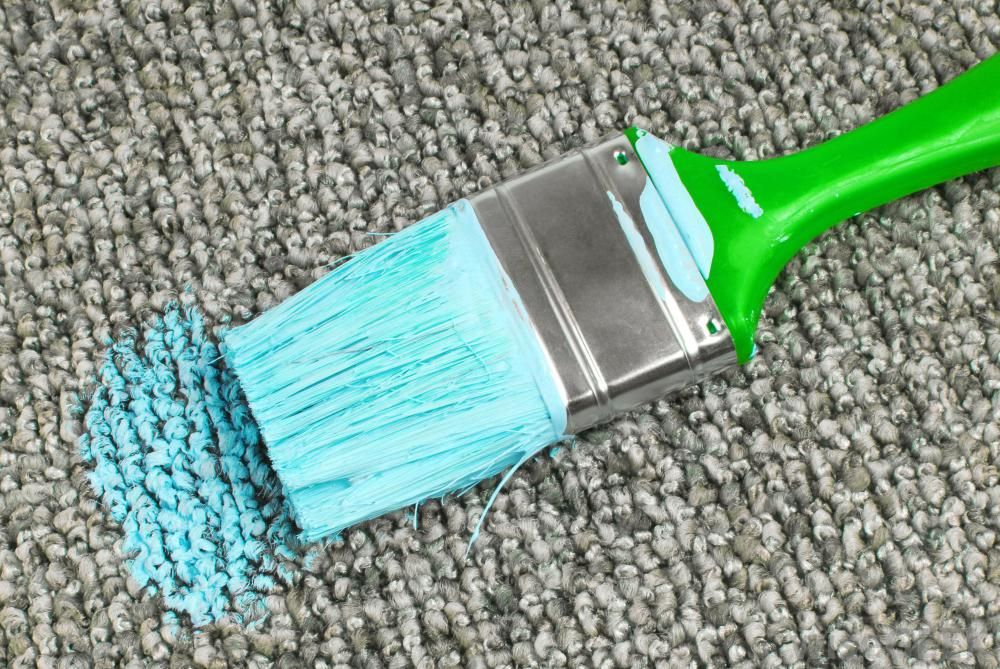 You Can Remove Dried Paint From Carpet With Wd 40 Goo Gone Acetone