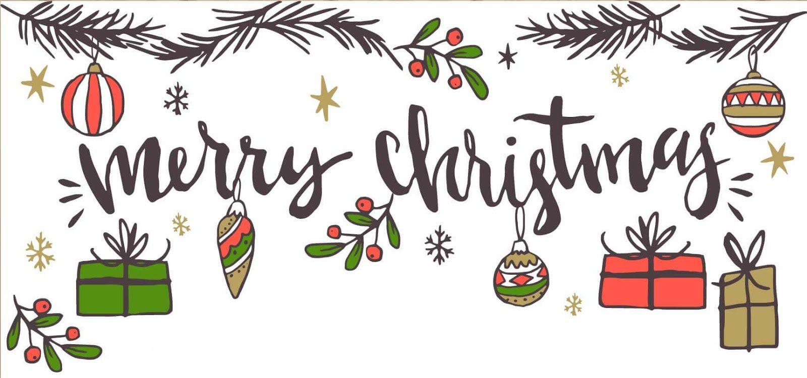 Free Merry Christmas Banner Merry Christmas Printable Banner Download Merry Christmas Printable Christmas Banners Christmas Facebook Cover