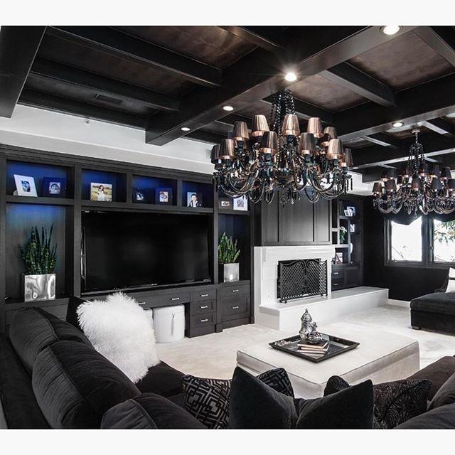 Black & white living room @KortenStEiN