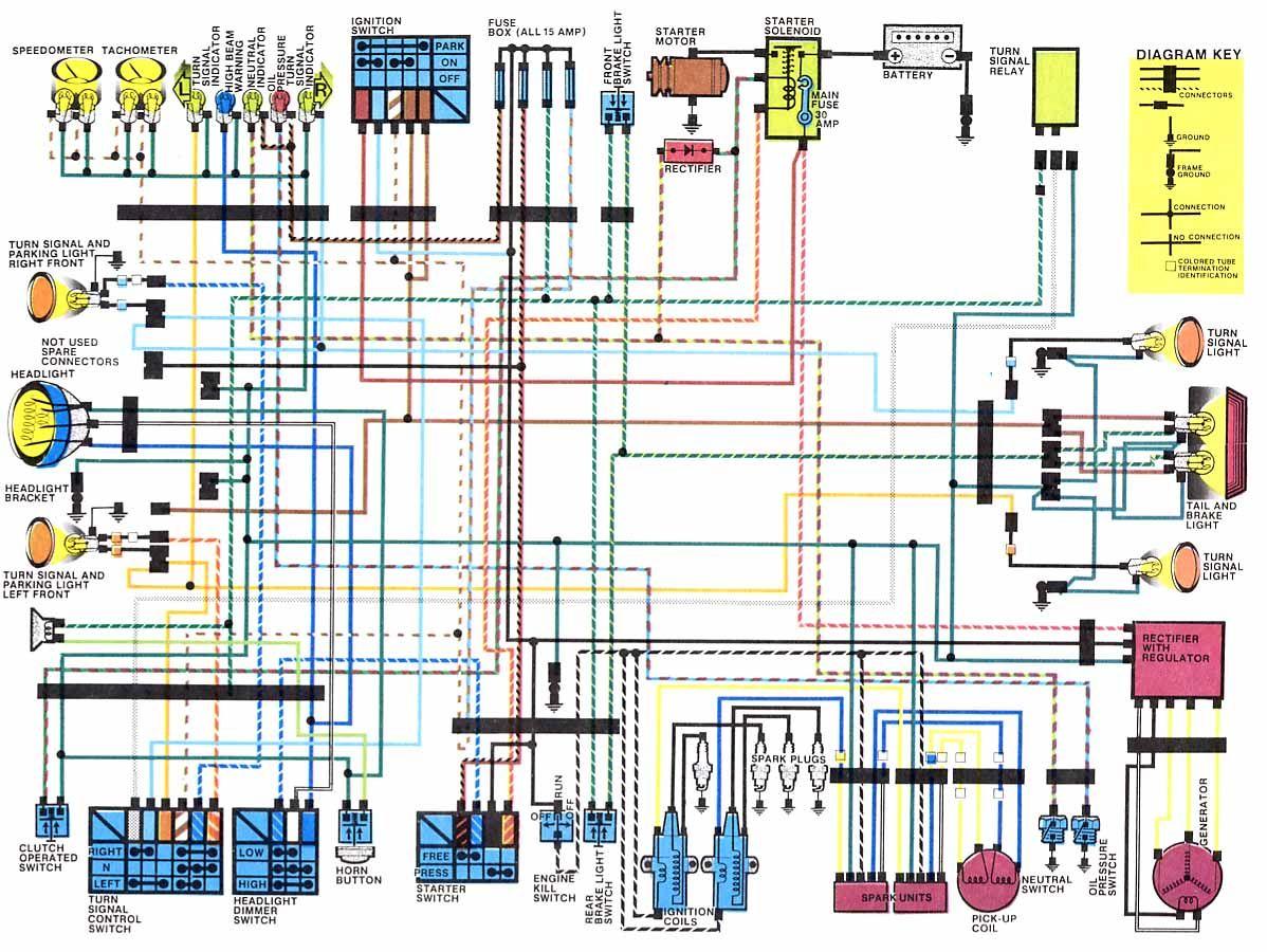 Honda Motorcycle Wiring Diagrams Motorcycle wiring