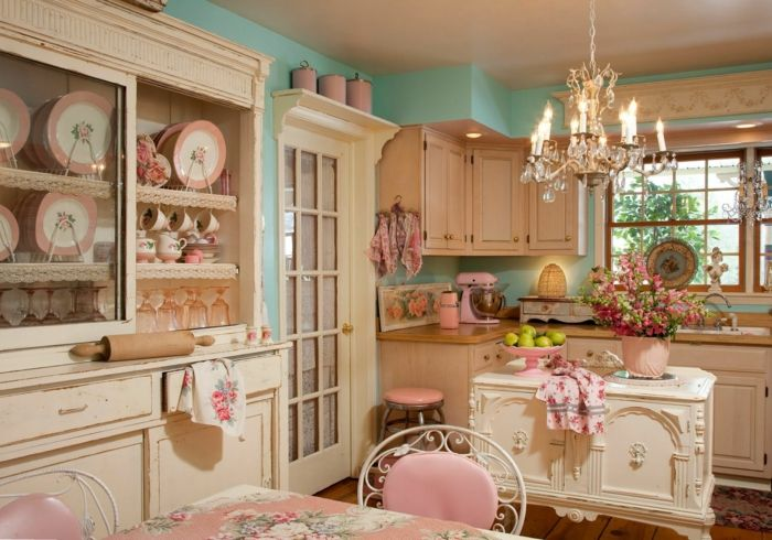 Shabby Chic Küchen 44 tolle designs shabby chic küche pantry inspiration
