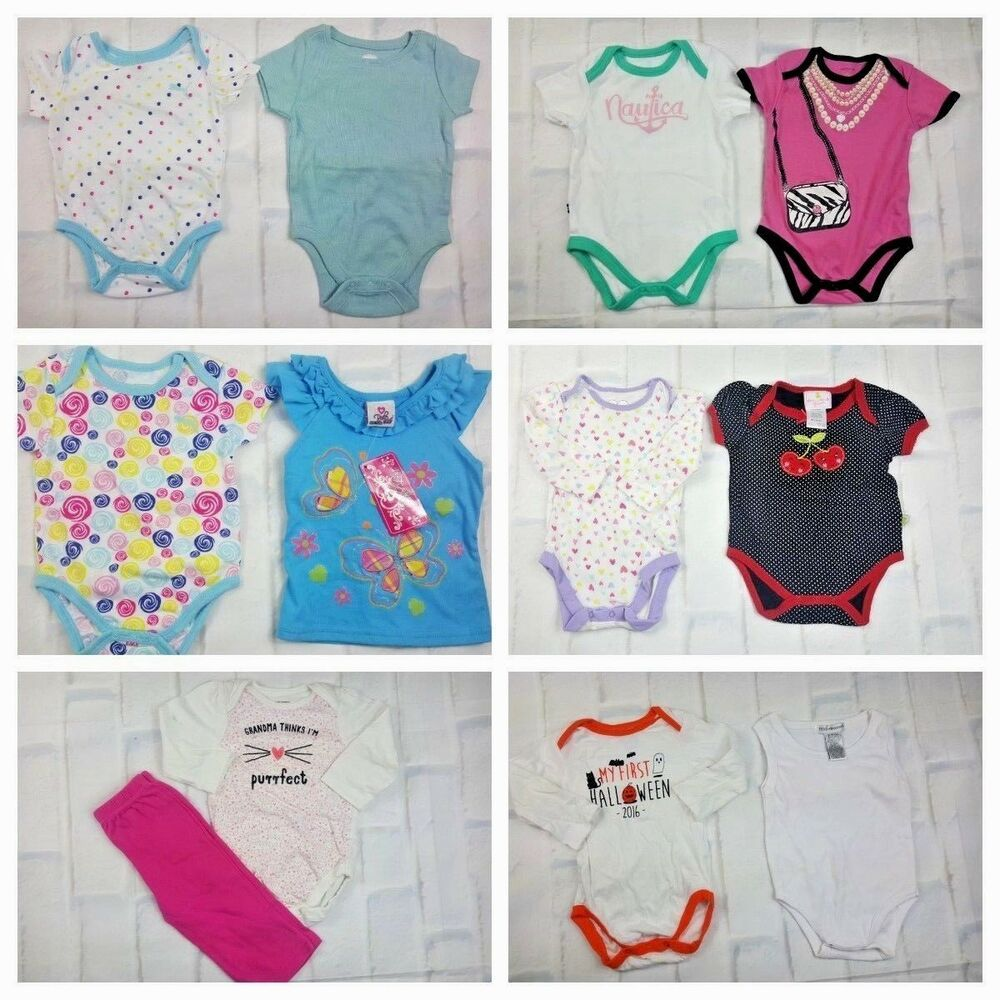 Ebay Sponsored Baby Girl Clothes 13 Piece Infant Clothing Bundle 3 6 M Mixed Brands Clean Baby Girl Clothes Baby Clothes Baby Toddler Clothing