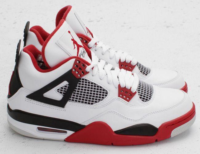 Air Jordan 4 rojo