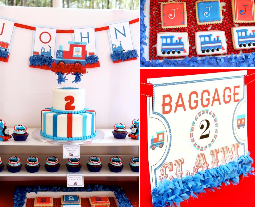 Thomas Train Boy Cake 2nd Birthday Party Planning Decorations Ideas