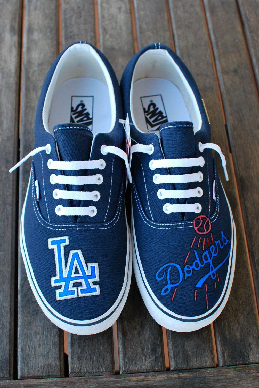 4c08348221 LA Dodgers Vans shoes by BStreetShoes on Etsy