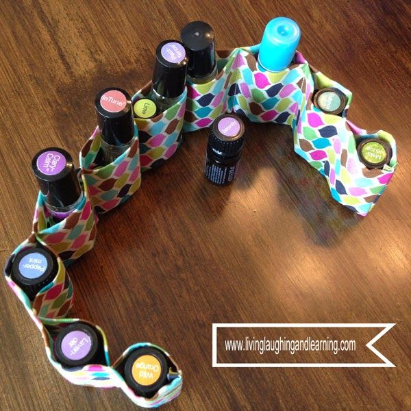Diy Essential Oil Organizer Www Livinglaughingandlearning
