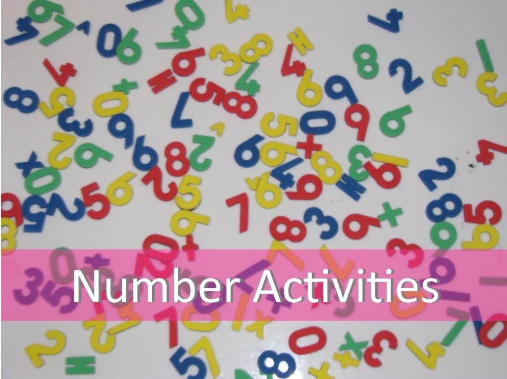 List of Number Activities