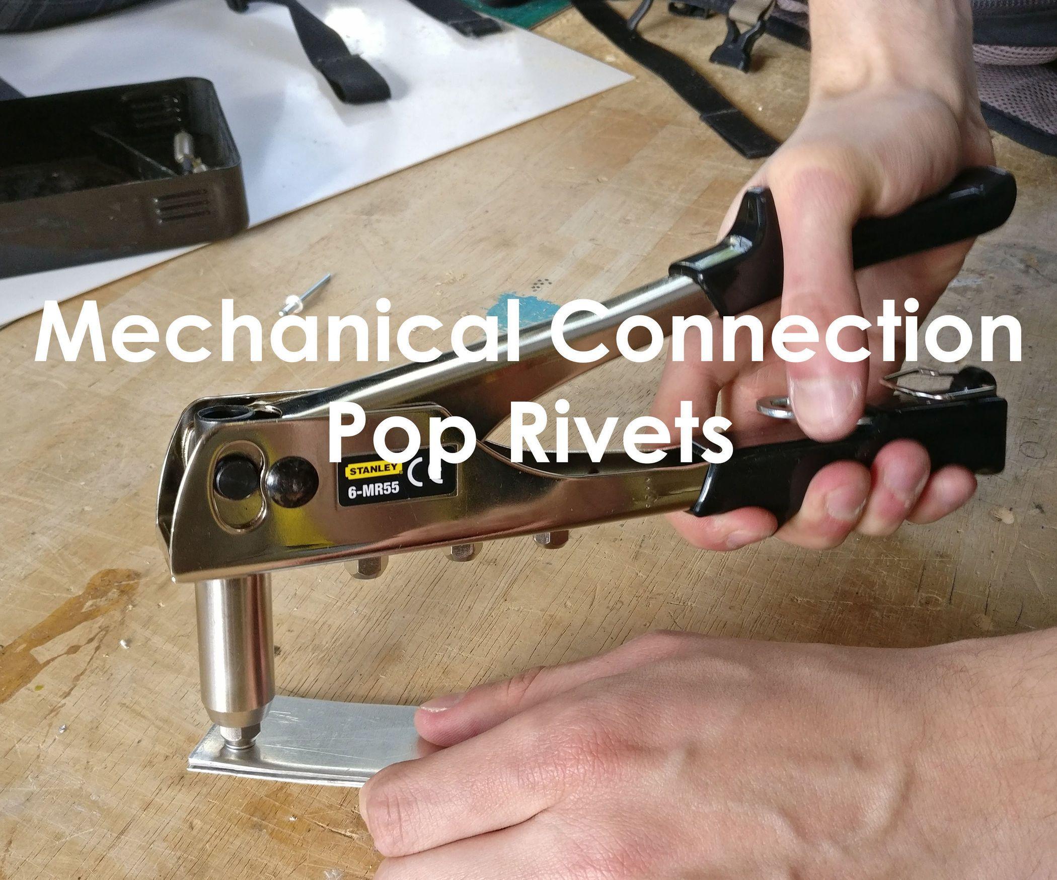 Mechanical Connection Pop Rivets Werkplaatsidc Rivets Metal Working Projects Metal Glue