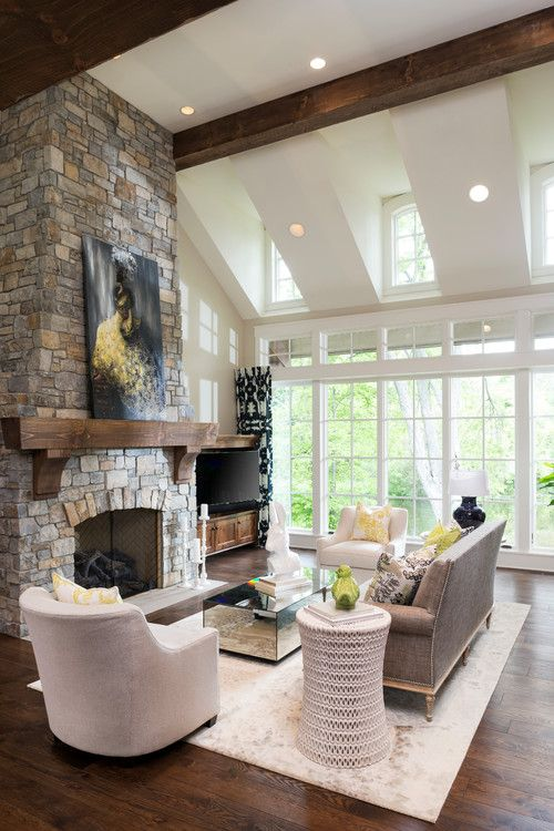 Georgianadesign Kyle Hunt Partners Minneapolis Home Georgiana Design Farm House Living Room Modern Farmhouse Living Room House Design