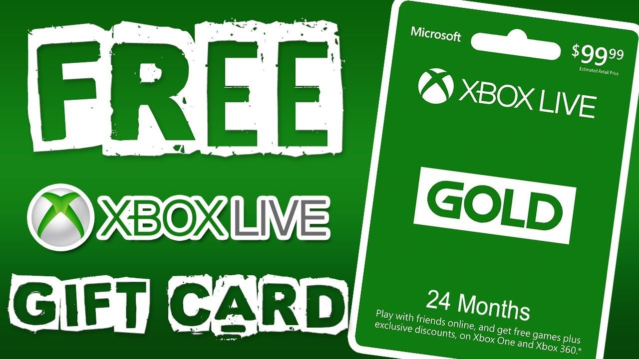 Free xbox live gold - free xbox live codes - how to get