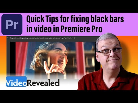 Quick Tips For Working With Black Bars In Video In Premiere Pro Youtube In 2021 Black Bar Premiere Pro Premiere
