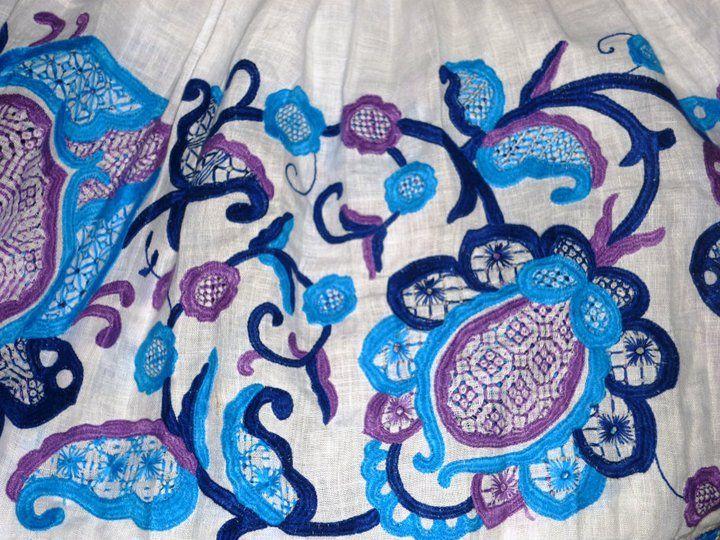 "Panamanian Art...The ""Pollera""...most beautiful national costume ever..."