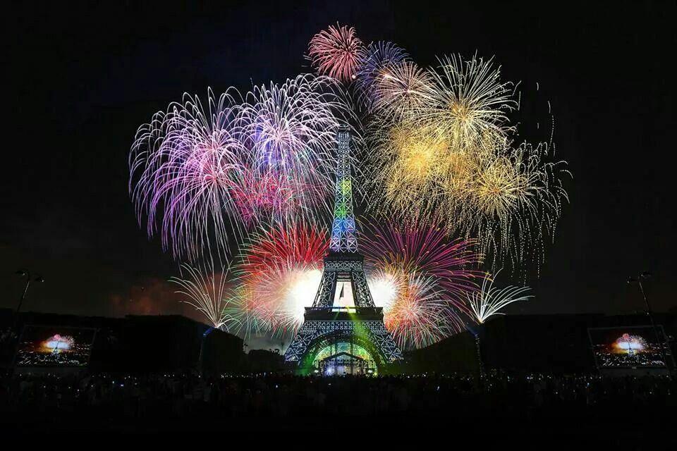 Beautiful Fireworks wallpaper, Fireworks, Paris holiday
