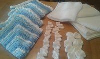 Cherished Gowns UK - The Great March Challenge Crochet and Knitted Blankets #wrappedinlove