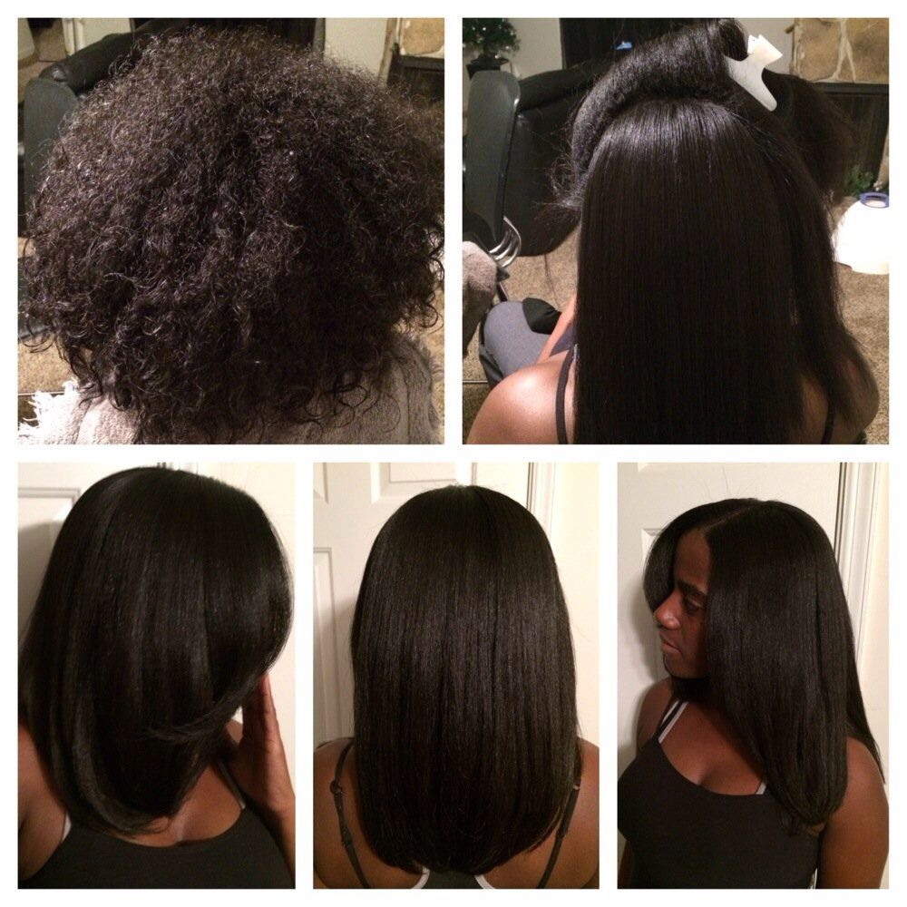 Straight perm damage - What Is A Silk Press How To Prevent Heat Damage