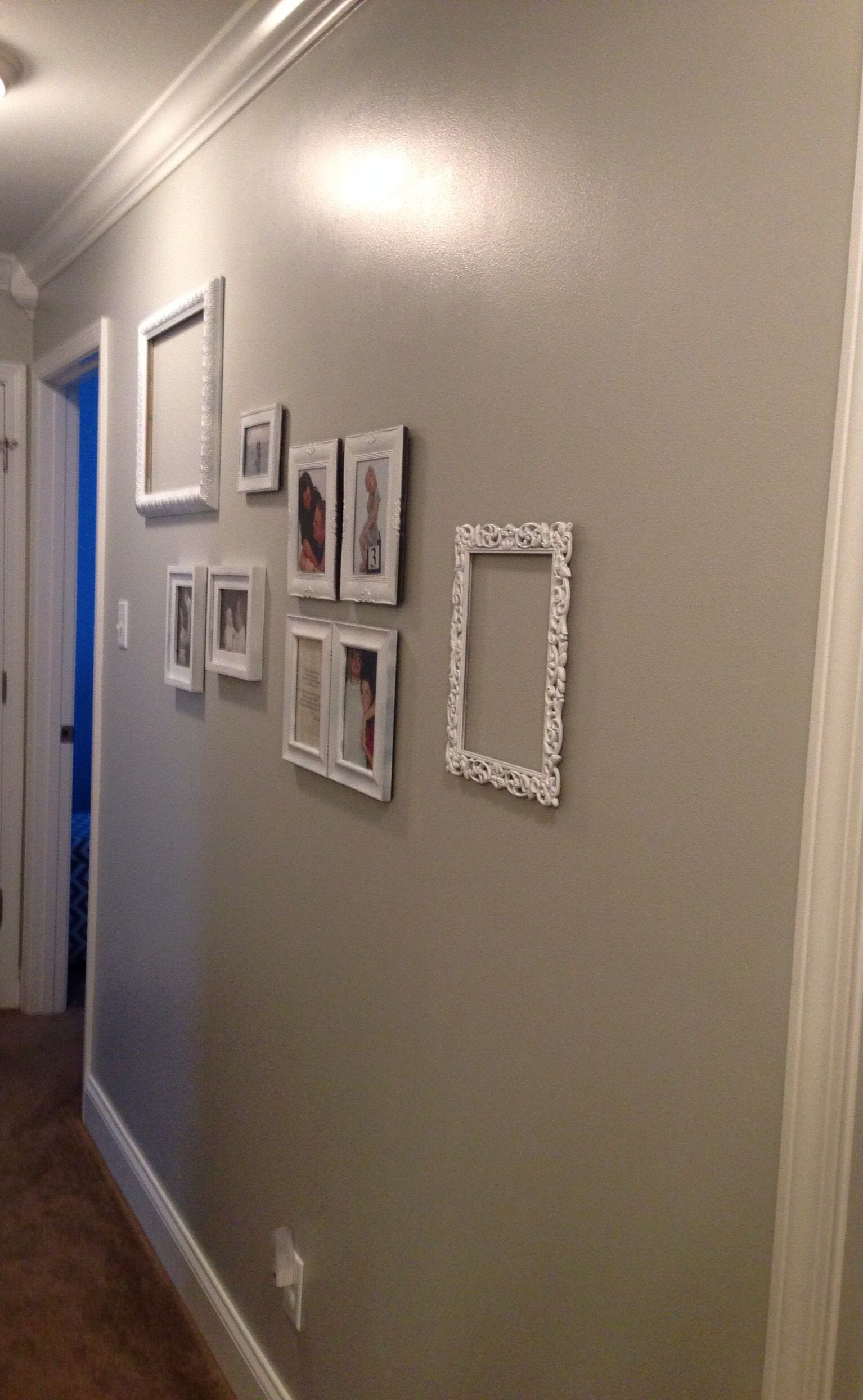 In Love With My Light Gray Walls And Bright White