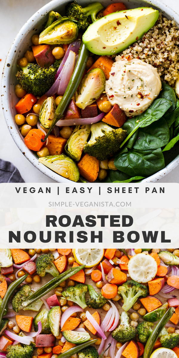 Roasted Nourish Bowls – Build Your Own Nourish Bowl