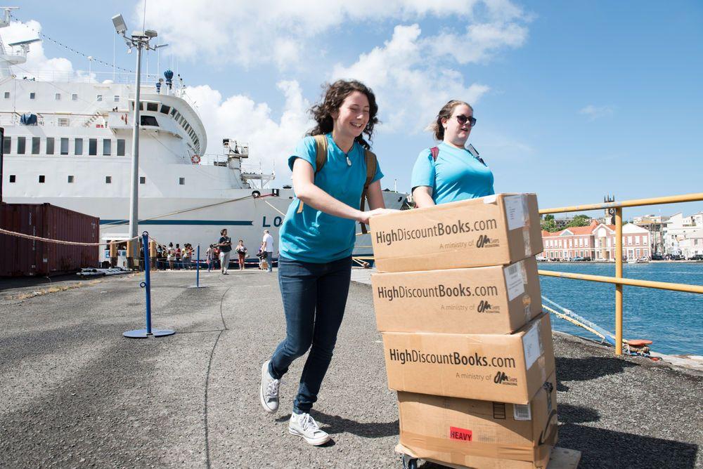 Om ships international community library operations