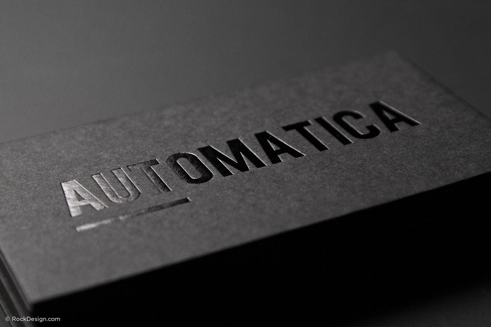 Business Card Design Spot Gloss Emboss Black Business Card Premium Business Cards Embossed Business Cards