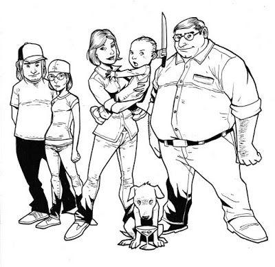 Imágenes para Colorear de Padre de Familia - Family Guy (16 fotos ...