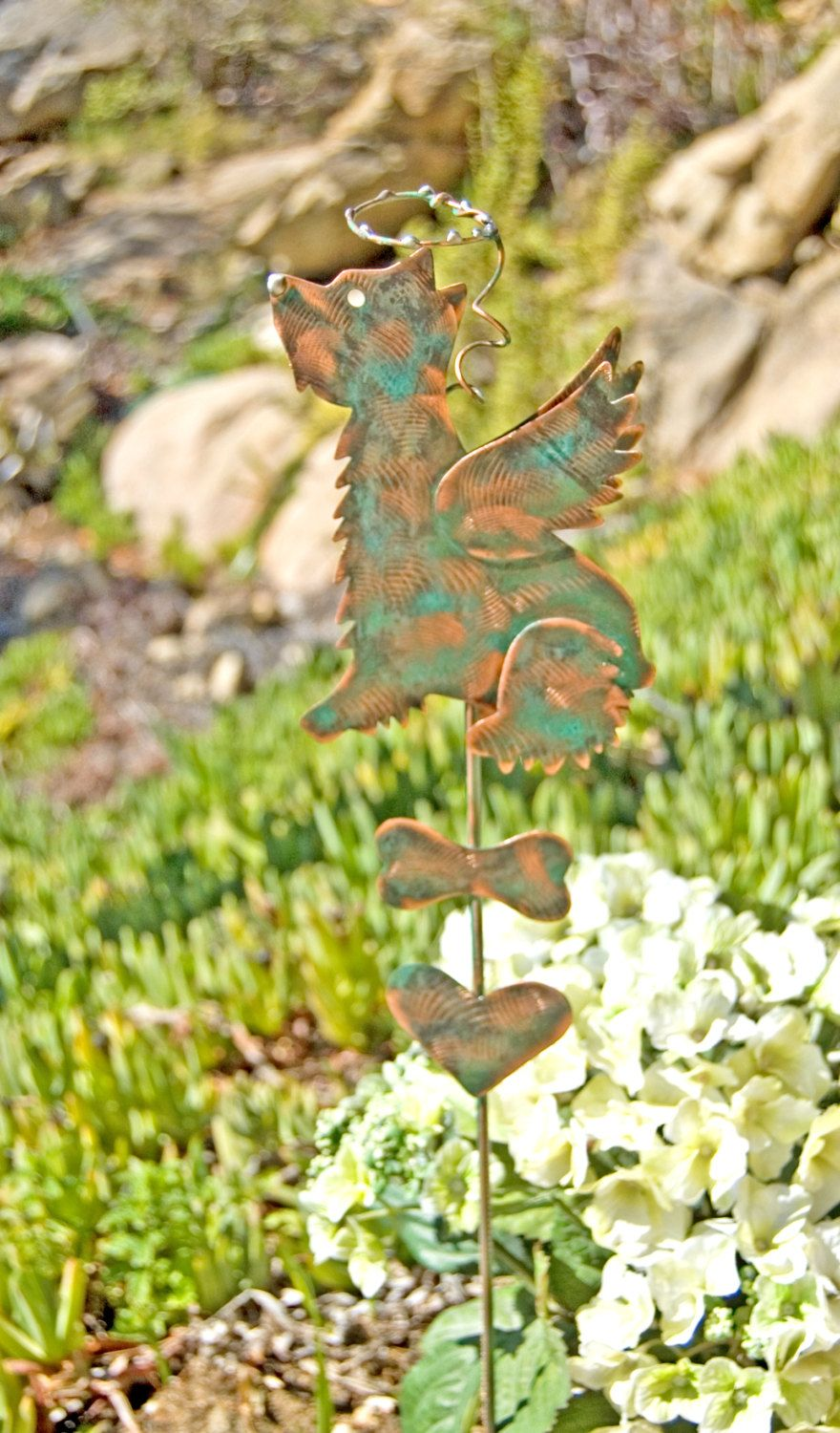 Decorative Metal Garden Stakes - Home Design Ideas and Pictures