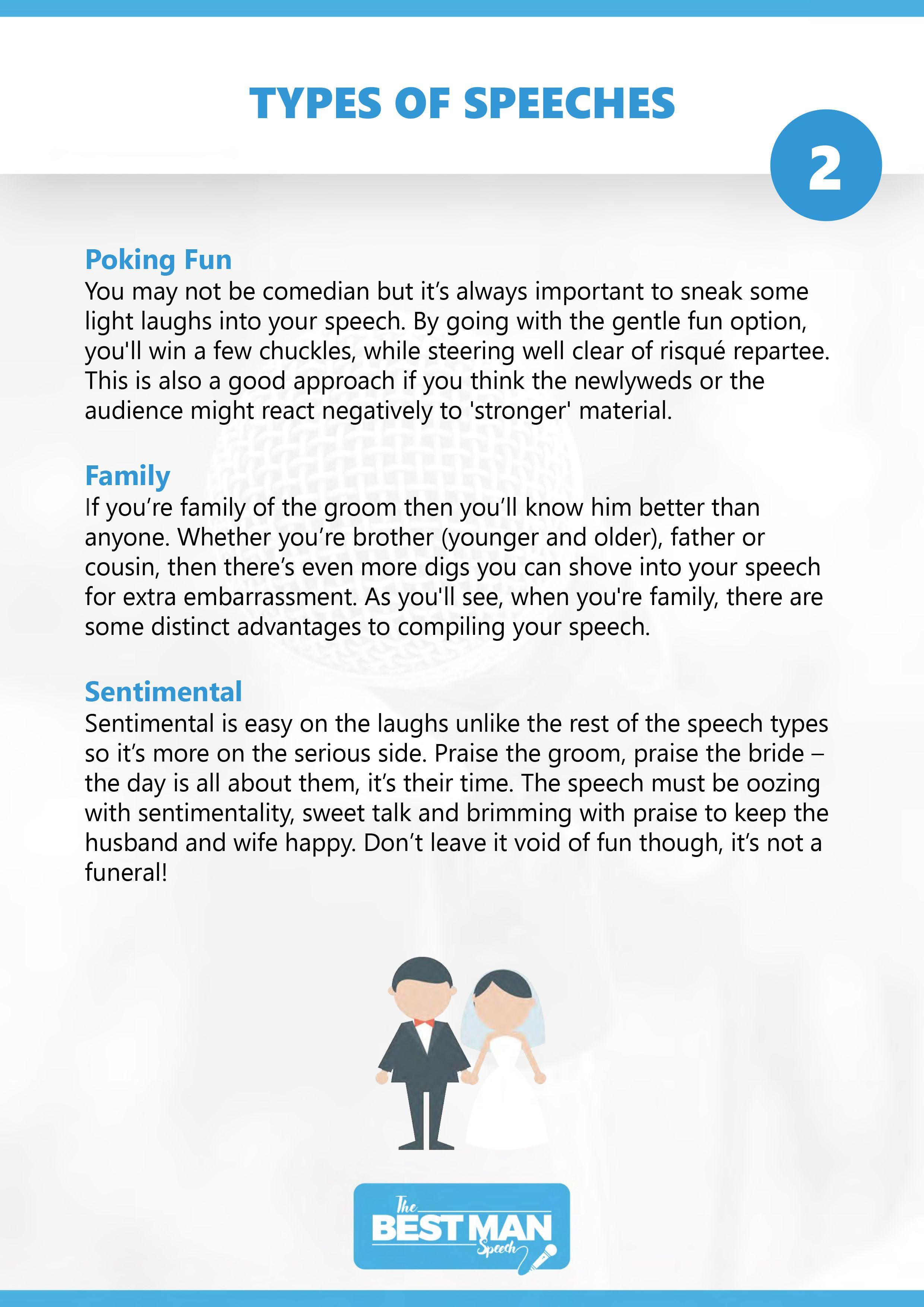 The Best Man Speech Guide Free Best Man Speech Template Best