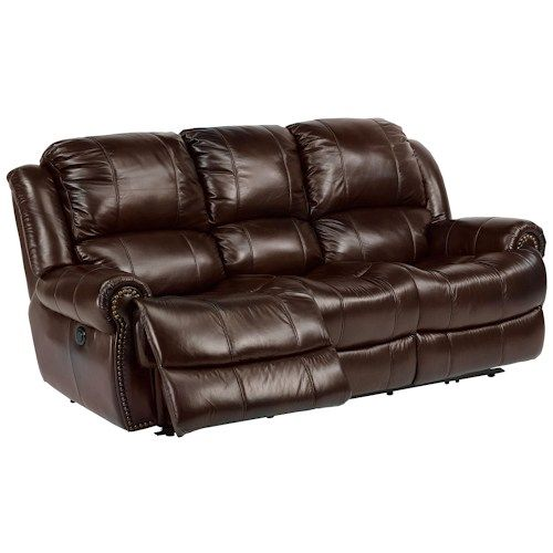 Latitudes Capitol Power Reclining Sofa With Traditional