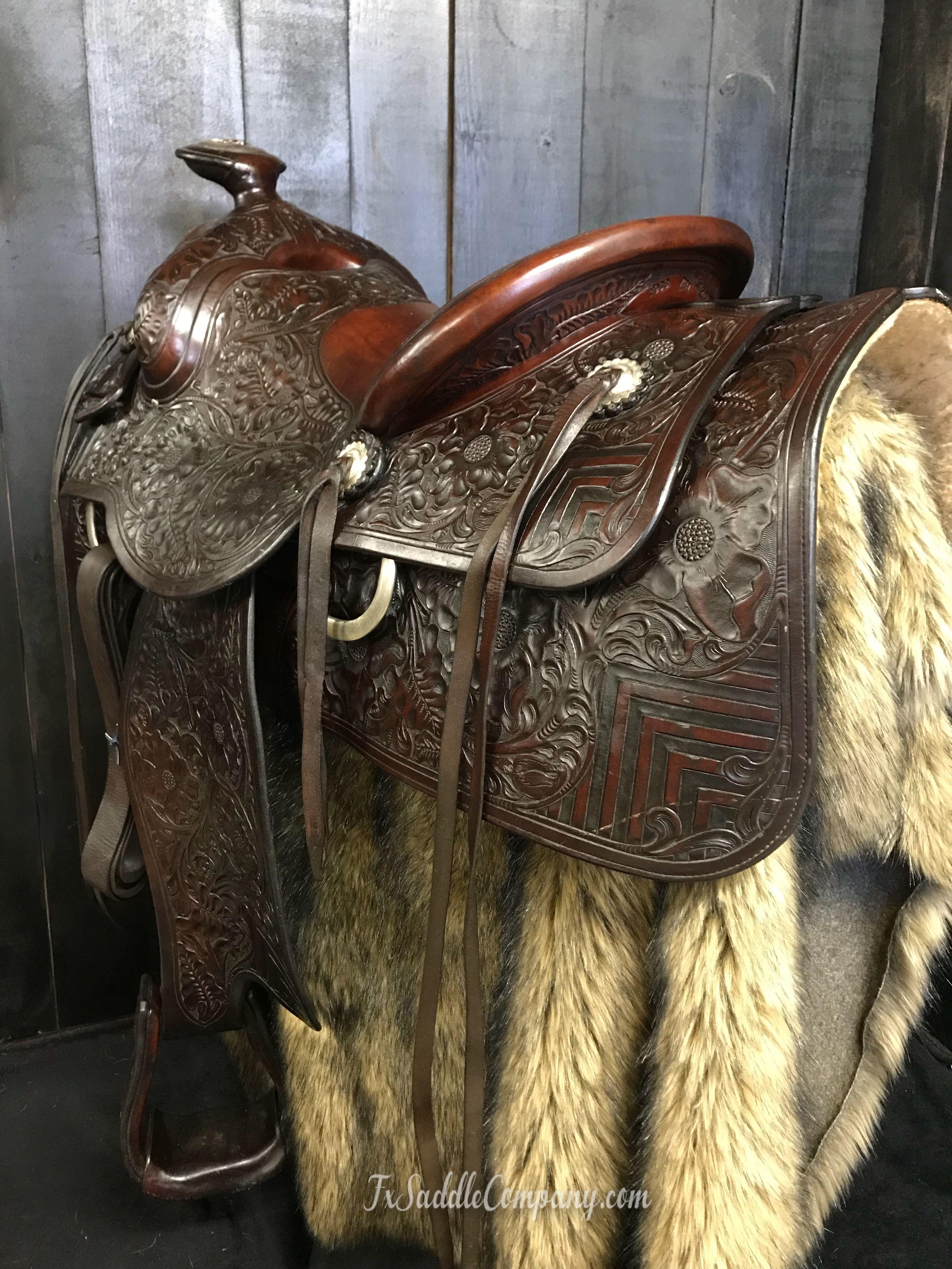 1944 Vintage Custom Built Hamley Roping Saddle For Sale At Fx Saddle Co Roping Saddles Roping Saddles For Sale Saddles For Sale