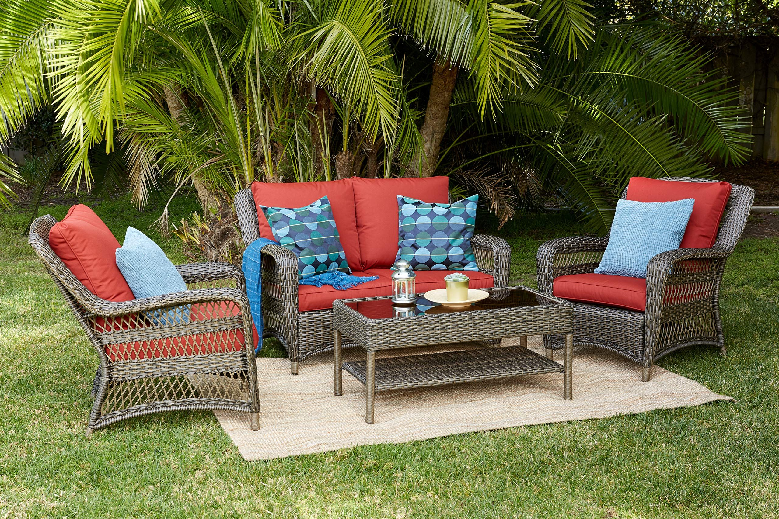 Quality Outdoor Living 65 5151271 Sonoma All Weather Wicker 4