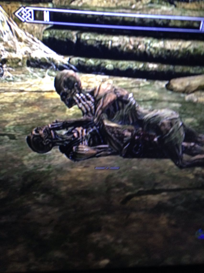 I'll leave you two love birds alone [Skyrim funny deaths