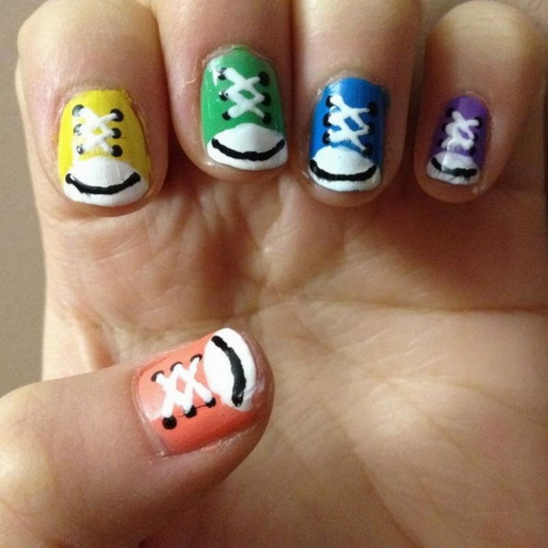 cute animal nail designs easy rPuTF024 | Nail Ideas | Pinterest ...