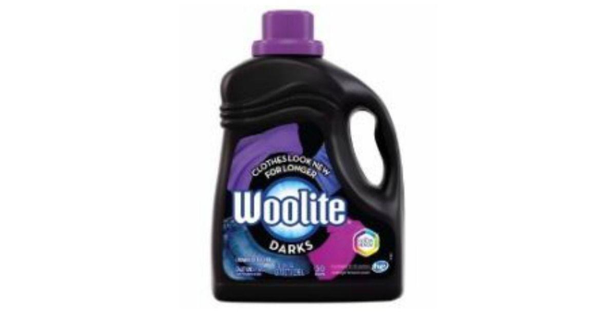 Possible Free Woolite Darks Liquid Laundry Detergent Gentle