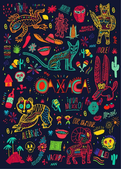 Bosque_OaxacaMoleskine_07 in Illustration