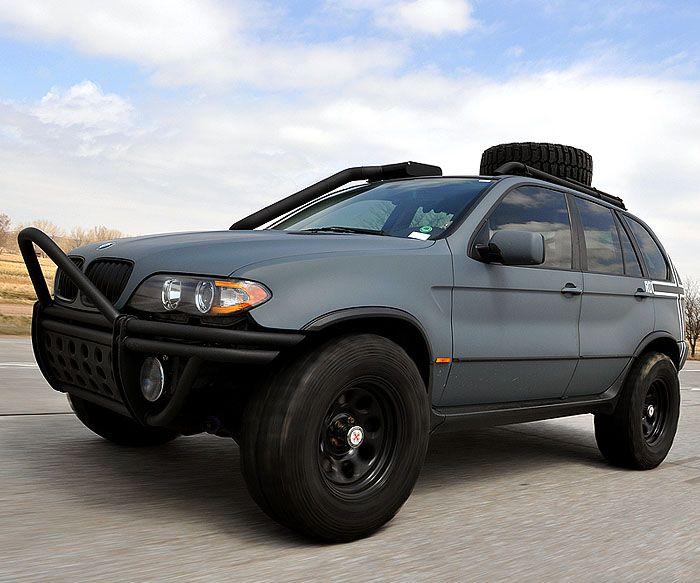 Bmw X5 E53 2002 3 0 Lift Kit Offroad Bmw X5 Bmw Cars