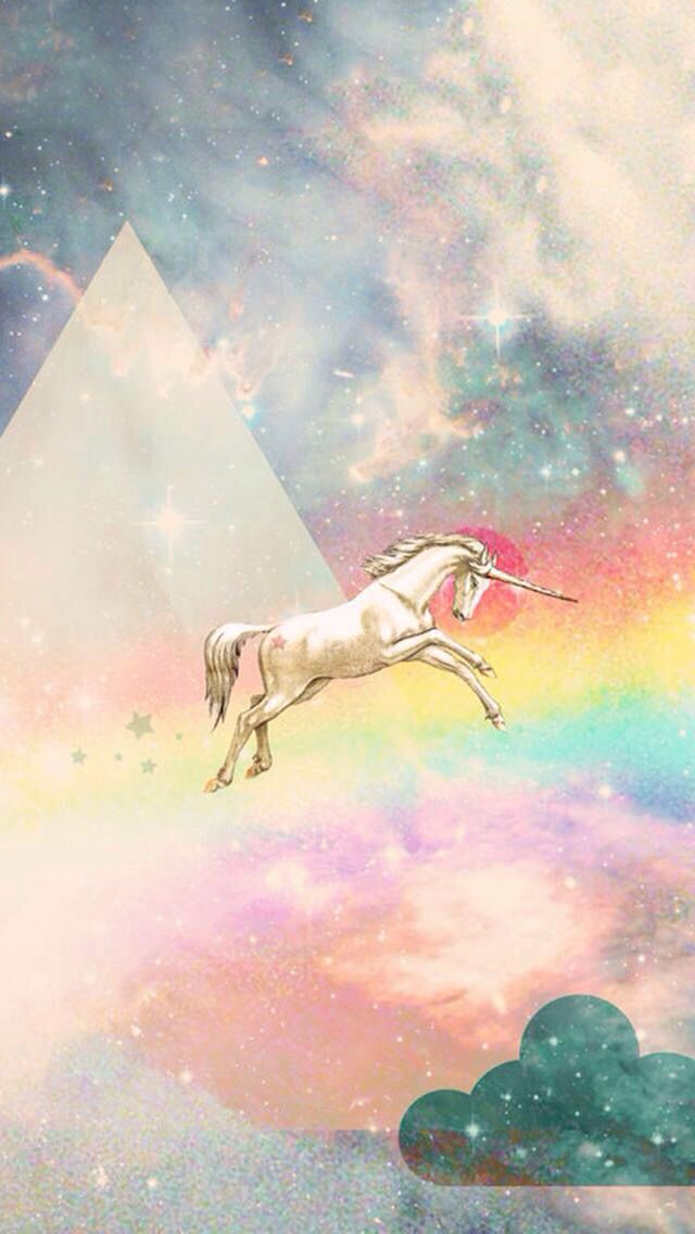 Unicorn cell phone wallpaper Rainbows Unicorn