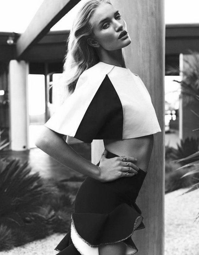 'Rosie Enamora' (Vogue Spain March 2013),  Rosie Huntington- Whiteley shot by Michelangelo Di Battista.