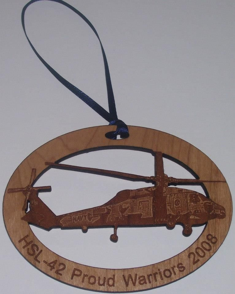 Color printed wood ornament - Color printed wood ornaments make great keepsakes. http://www.stampworldonline.com/category.aspx?categoryID=66