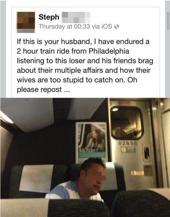 Cheaters Caught On Facebook