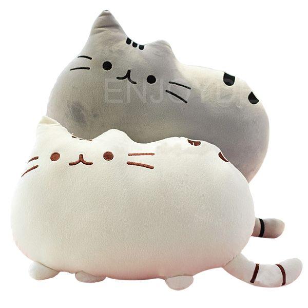 Cheap Lindo gato grande almohada cojín en forma de suave felpa muñeca de juguete decoración del hogar, Compro Calidad Almohadas de Viaje directamente de los surtidores de China:       Creativo lindo gato grande en forma de almohada cojín suave felpa muñeca de juguete casa sofá decoración