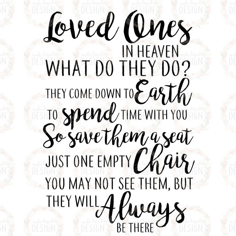 Download Memorial Lantern SVG Save them a seat svg Loved Ones in ...
