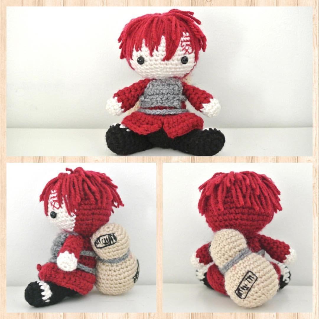 Gaara from Naruto Shippuden amigurumi | Amigurumi | Pinterest ...