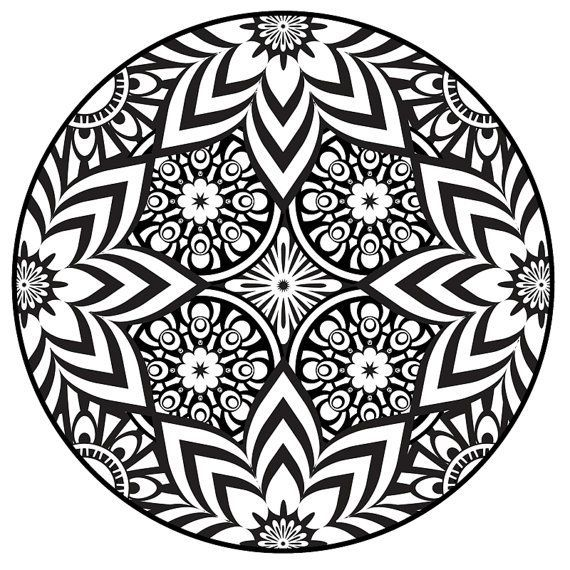 Free Mandala Coloring Book Pdf - Cinebrique