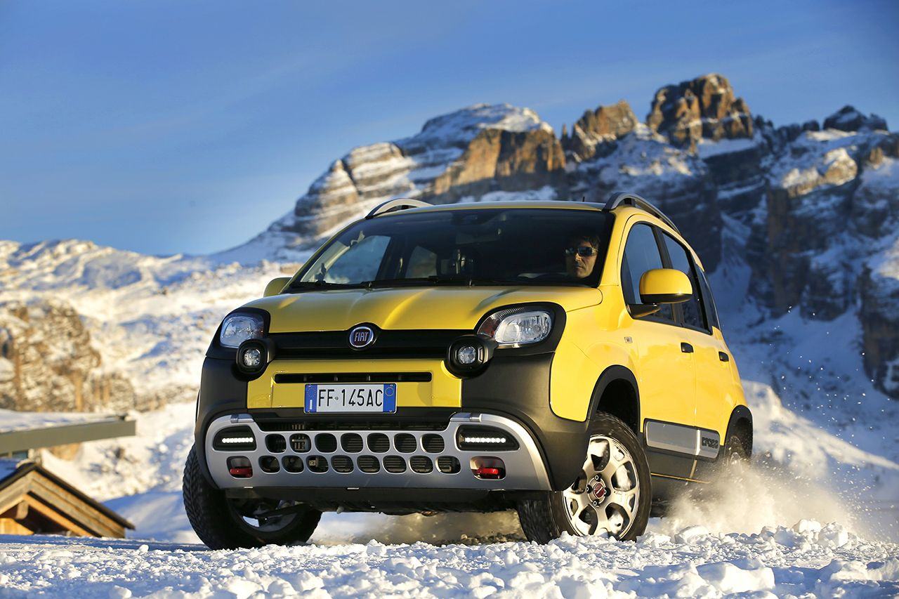 Fiat News Panda Cross Wins The Crossover Category At The 4x4
