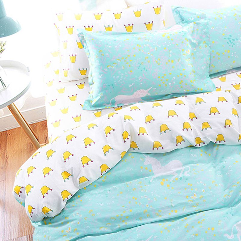 Cheap Cute Bed Sets Buy Quality Unicorn Bedding Set Directly From China Duvet Cover Set Suppliers Bed Unicorn Bed Set Unicorn Bedding Queen Size Duvet Covers