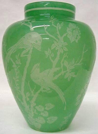 Steuben Vase With Bird Carving Stuff Mom Loves Pinterest