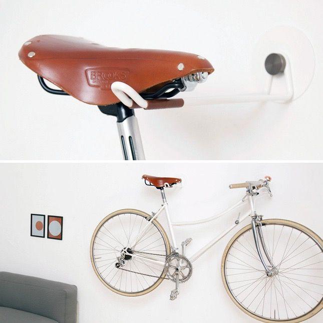 10 Creative Ways To Hang Up Your Bike Bike Storage Apartment Hanging Bike Rack Bike Storage