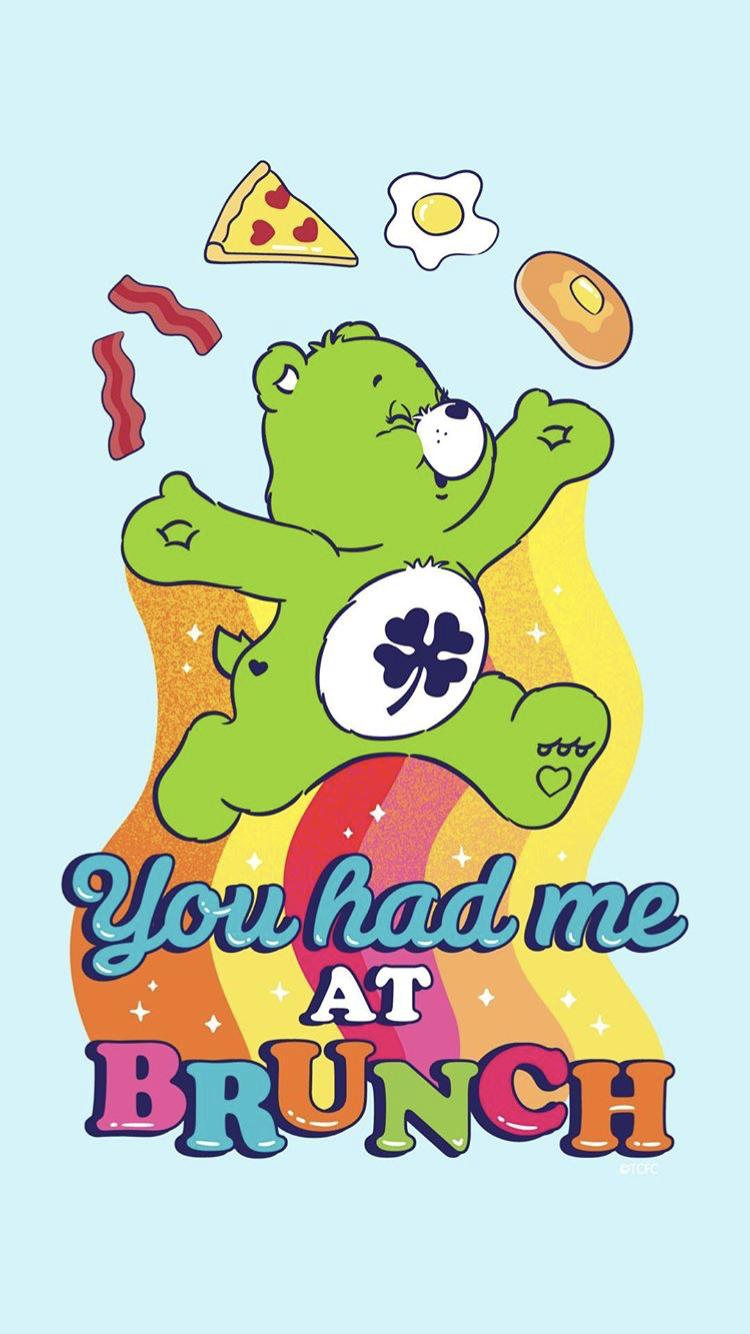 Good Luck Bear Iphone Wallpaper Care Bears Instagram Cute Cartoon Wallpapers Bear Wallpaper Care Bear